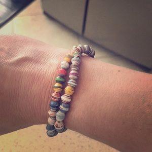 Thirty One Bits—31 Bits double strand bracelet